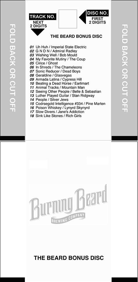 Beard Bonus Disc